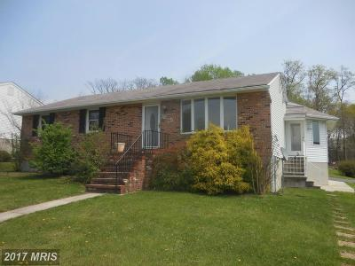 Baltimore Single Family Home For Sale: 7815 Perry Road