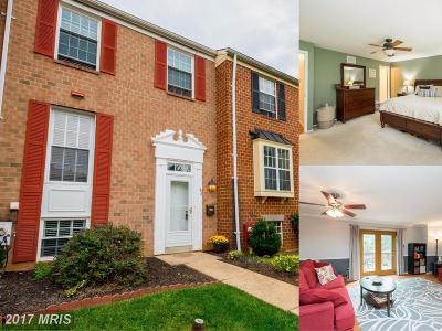 Hunt Valley, Lutherville Timonium Townhouse For Sale: 43 Blondell Court