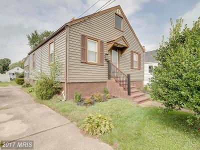 Baltimore Single Family Home For Sale: 936 Woodlynn Road