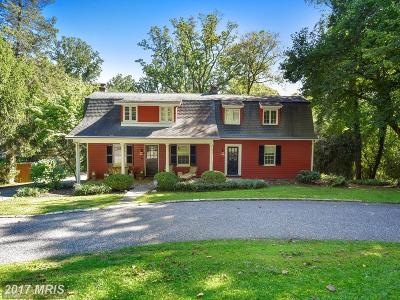 Baltimore Single Family Home For Sale: 1747 Circle Road