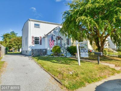 Back River Highlands, Back River Neck, Eastern Terrace, Edgewater, Essex, Holly Neck, Hopewell Pointe, Hyde Park, Macelee, Marlyn Terrace, Middleborough, Middlesex, Riverwood Park, Rockaway Beach, Waterview Single Family Home For Sale: 710 Maryland Avenue