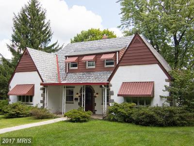Baltimore Single Family Home For Sale: 5 Holmehurst Avenue