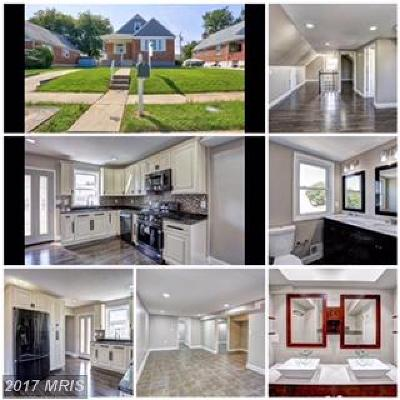Baltimore Single Family Home For Sale: 6513 Hazelwood Court