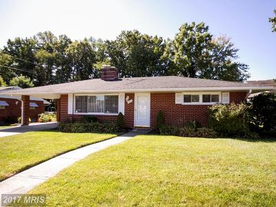 Baltimore Single Family Home For Sale: 4247 Darleigh Road