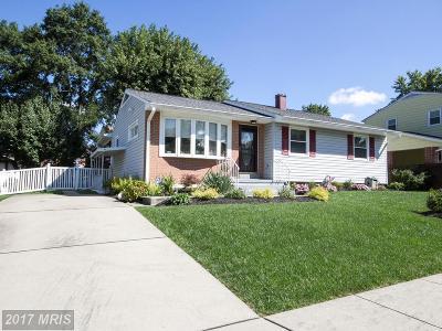 Baltimore Single Family Home For Sale: 4702 Ebenezer Road