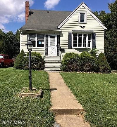 Halethorpe Single Family Home For Sale: 1308 Elm Road