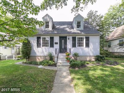 Baltimore Single Family Home For Sale: 302 Brook Road