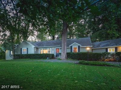 Baltimore Single Family Home For Sale: 524 Hampton Lane