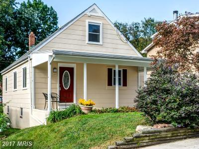 Baltimore Single Family Home For Sale: 3027 Arizona Avenue