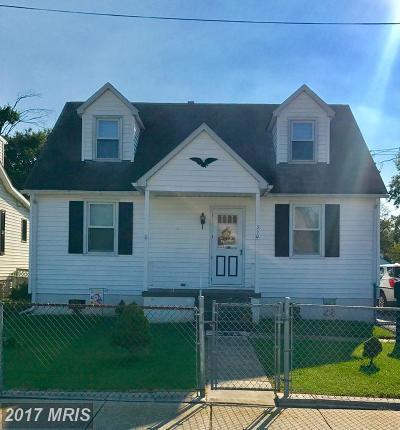 Baltimore Single Family Home For Sale: 340 Maple Avenue