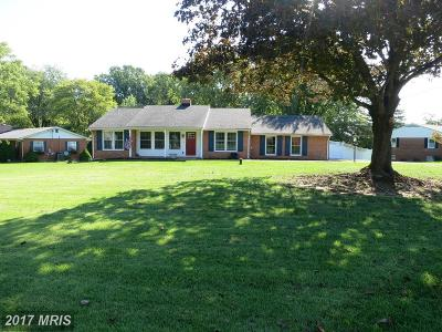 Perry Hall Single Family Home For Sale: 9824 Fox Hill Road