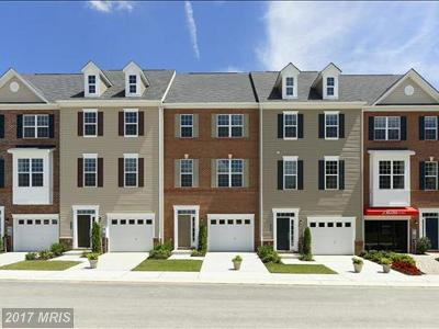 Baltimore Townhouse For Sale: 9600 Eaves Drive