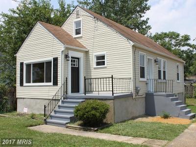 Baltimore Single Family Home For Sale: 8026 Duvall Avenue
