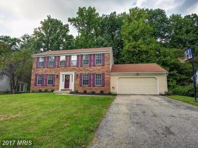 Baltimore Single Family Home For Sale: 7816 Main Falls Circle