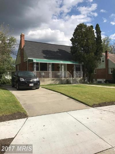 Baltimore Single Family Home For Sale: 3405 Fairview Road