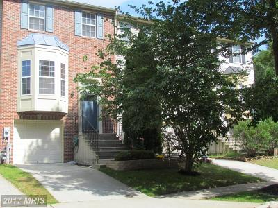 Reisterstown Townhouse For Sale: 11805 Tarragon Road