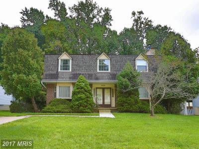 Randallstown Single Family Home For Sale: 4243 Mary Ridge Drive