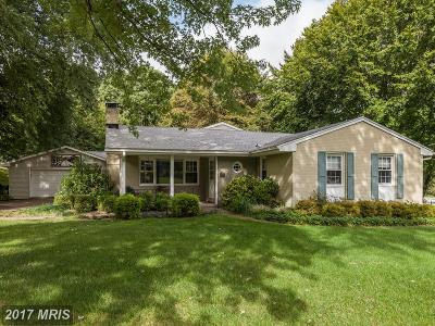 Lutherville Timonium Single Family Home For Sale: 2308 Pot Spring Road