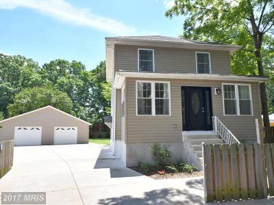Baltimore Single Family Home For Sale: 919 Lutz Avenue