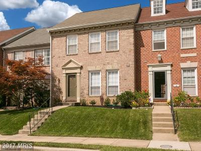 Baltimore Townhouse For Sale: 4 Roger Valley Court