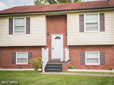 Baltimore Single Family Home For Sale: 591 Bowleys Quarters Road