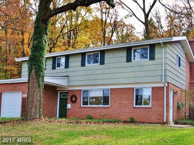 Towson Single Family Home For Sale: 913 Cromwell Bridge Road