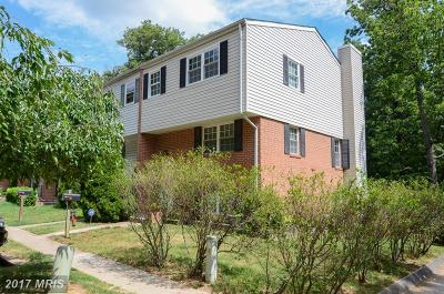 Baltimore Townhouse For Sale: 2876 Aspen Hill Road