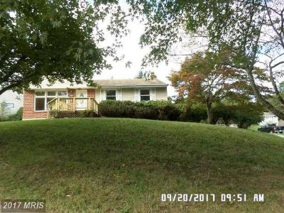 Randallstown Single Family Home For Sale: 3706 Vega Road