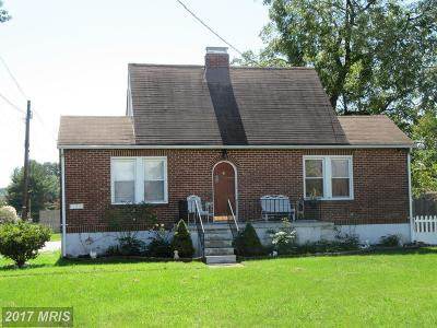 Baltimore Single Family Home For Sale: 2211 Sparrows Point Road