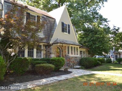 Baltimore MD Single Family Home For Sale: $719,000