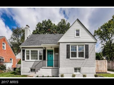 Baltimore Single Family Home For Sale: 6682 Loch Hill Road