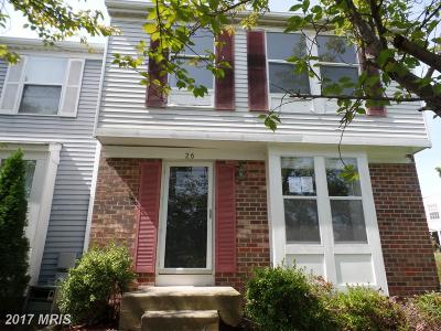 Parkville MD Townhouse Sale Pending: $128,000
