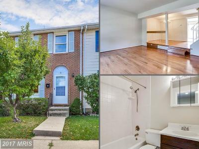 Baltimore Townhouse For Sale: 15 Duchess Court
