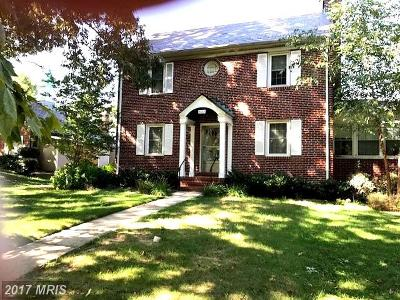 Baltimore Single Family Home For Sale: 3103 Dunglow Road