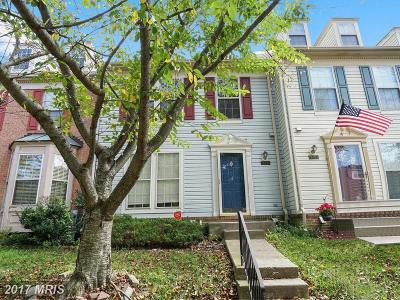 Owings Mills Townhouse For Sale: 4813 Simonds Drive