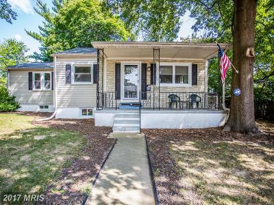 Baltimore Single Family Home For Sale: 11 Left Wing Drive