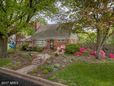 Baltimore Single Family Home For Sale: 1307 Stevenson Lane