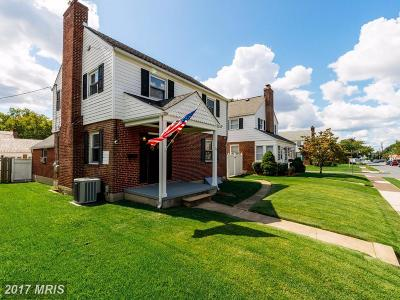 Baltimore Single Family Home For Sale: 3213 Everlastng Lane