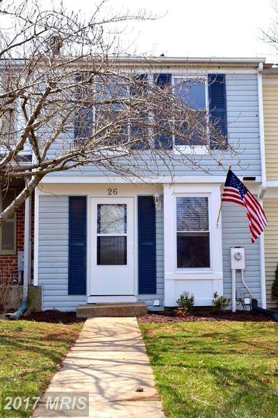 Baltimore Townhouse For Sale: 26 Trailwood Road