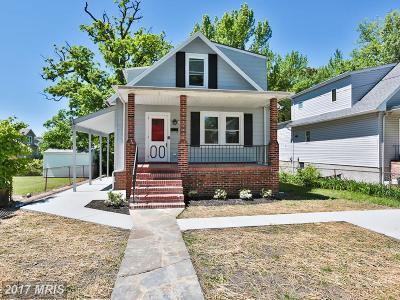 Baltimore Single Family Home For Sale: 7702 Oak Avenue