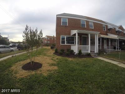 Baltimore Townhouse For Sale: 7468 Rabon Avenue