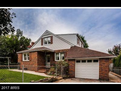Baltimore Single Family Home For Sale: 2328 Martin Drive