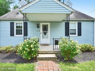 Baltimore Single Family Home For Sale: 8109 Hillendale Road