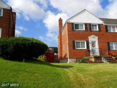 Baltimore Townhouse For Sale: 1354 Halstead Road