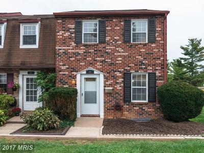 Owings Mills Townhouse For Sale: 2 Garrison Ridge Court