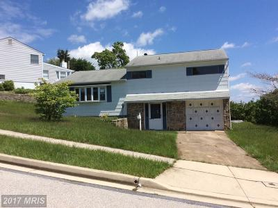 Baltimore Single Family Home For Sale: 1104 Raven Drive