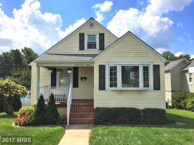 Baltimore Single Family Home For Sale: 3315 Woodside Avenue