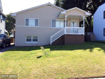 Halethorpe Single Family Home For Sale: 3237 Magnolia Avenue