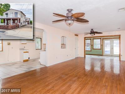 Baltimore Single Family Home For Sale: 1718 Wilson Avenue