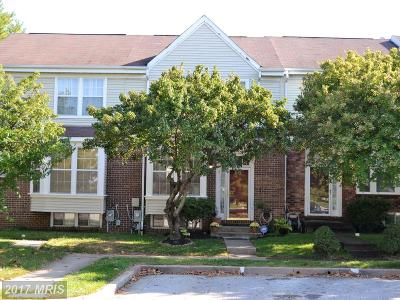 Reisterstown Townhouse For Sale: 4 Wessex Court